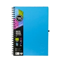 Spirax Notebook 512 Hardcover A4 200page PK5 Blue