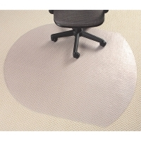 Marbig Chairmat Lowpile Clear Glass 87240 Small Contempo 99x124