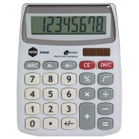 Marbig Calculator 97640 Compact Desktop 8digit