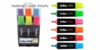 Artline Vivix Liquid Highlighters Wallet 6 Assorted