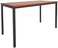 Rapidline Steel Frame Drafting Height Table 1500x750x900 Cherry
