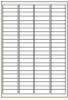 Custom Label 454 A4 BX100 92/sheet White 48x12