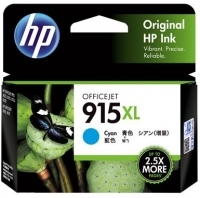 HP Ink Cartridge 915XL Cyan  - 825 pages