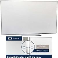 Quartet Penrite Slimline Premium Magnetic Whiteboard 1200x1200mm