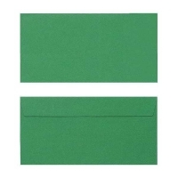 Quill Envelope 80gsm DL 110x220 Pack 25 - Emerald