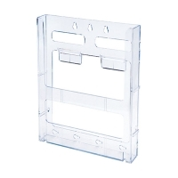 Deflecto Brochure Holder Lit-Loc Wall Display A4