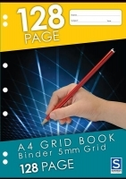 Sovereign Graph Binder Book A4 5mm Grid 128page