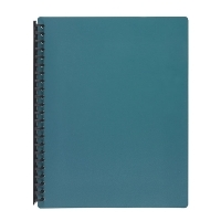 Marbig A4 Refillable Display Book 20pocket 2007028 Dark Green