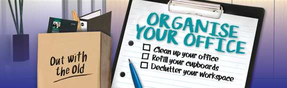 organise your office with stationery world
